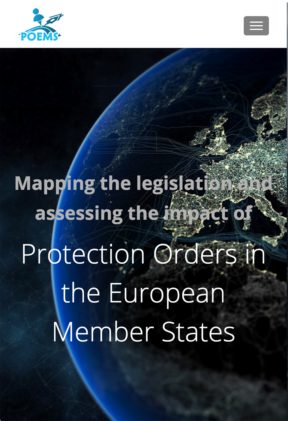 Protection orders in the european member states project